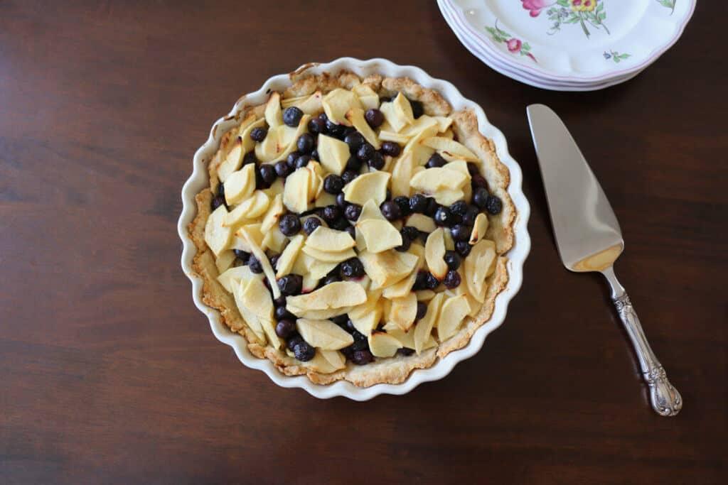 Blueberry Apple Tart
