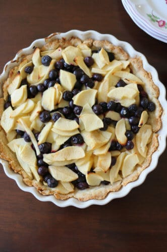 Blueberry Apple Tart