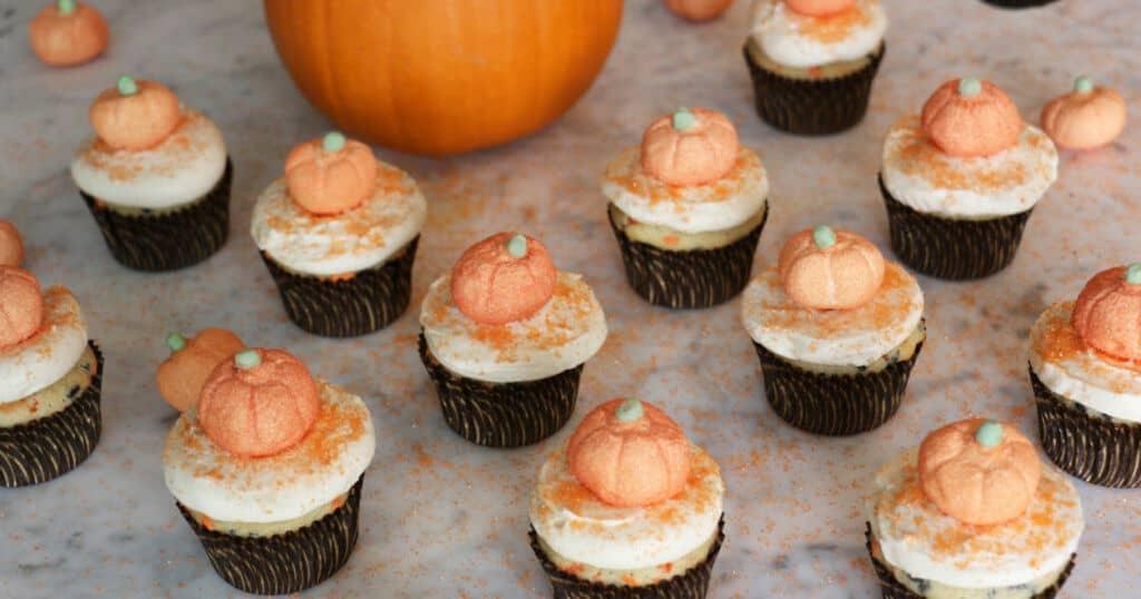 Halloween Funfetti Cupcake