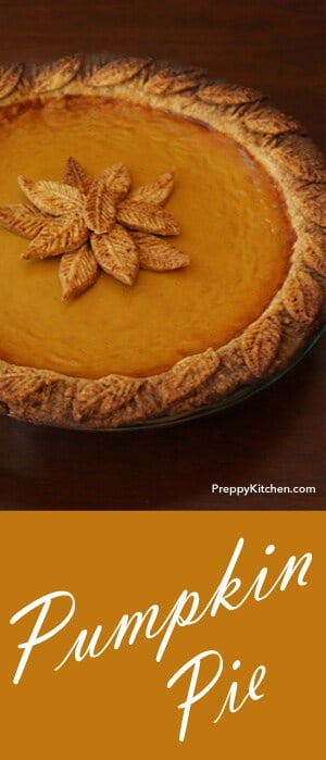 this recipe is NOT your STANDARD canned pumpkin -- in a graham cracker crust -- kind of pie. This one is way more DELICIOUS!