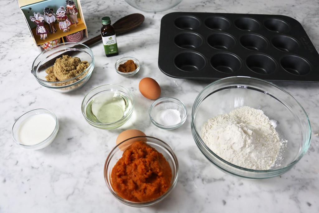 Pumpkin Cinnamon Cupcakes 1