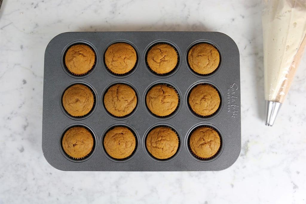 Pumpkin Cinnamon Cupcakes 12