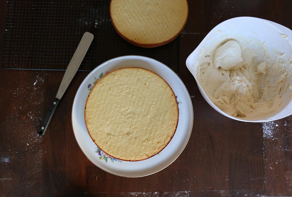 Almond Coconut Cake 12