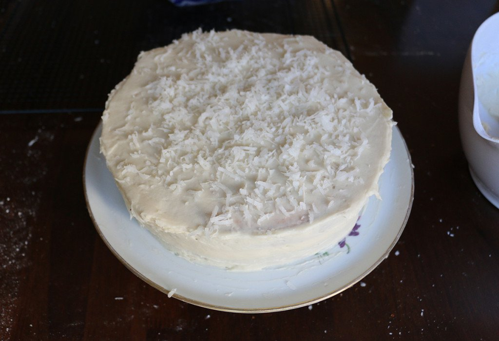 Almond Coconut Cake 16
