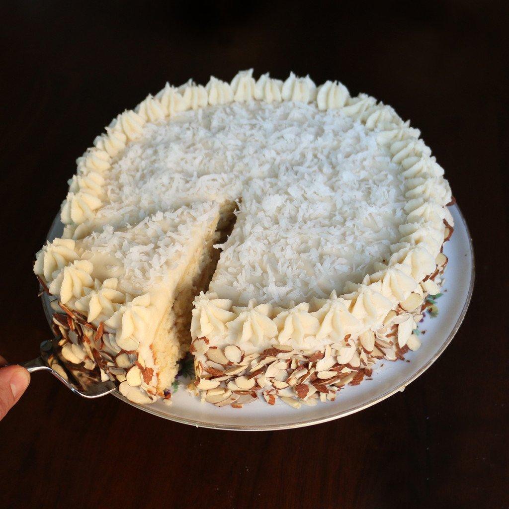 Almond Coconut Cake Insta