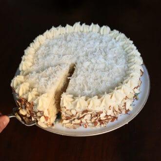 Almond Coconut Cake