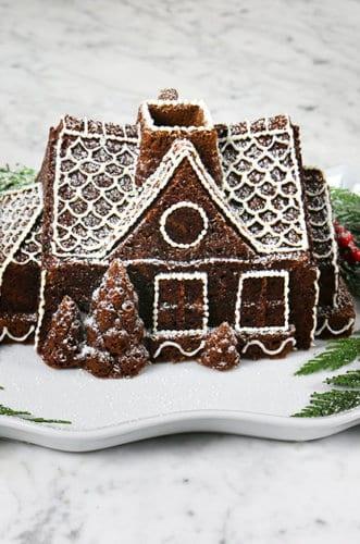 Gingerbread Bundt Cake!