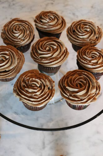 Mocha Icing for Cupcakes