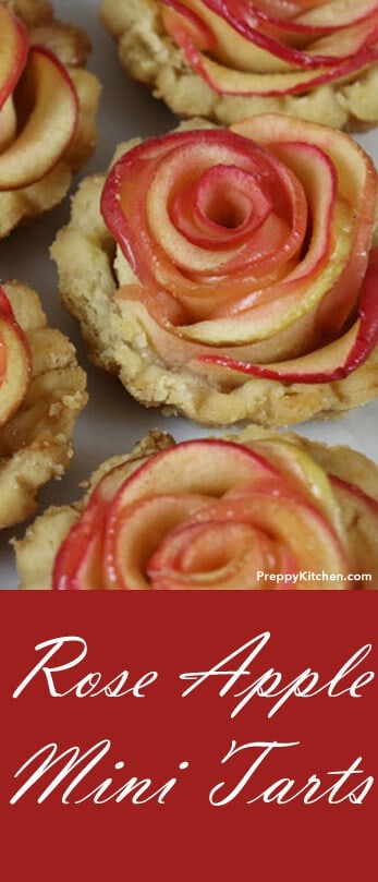 Been craving a delicious and tasty apple tart? It's cute too! These mini tarts are not difficult to make but the technique really makes a great impression and the taste is amazing... @PreppyKitchen