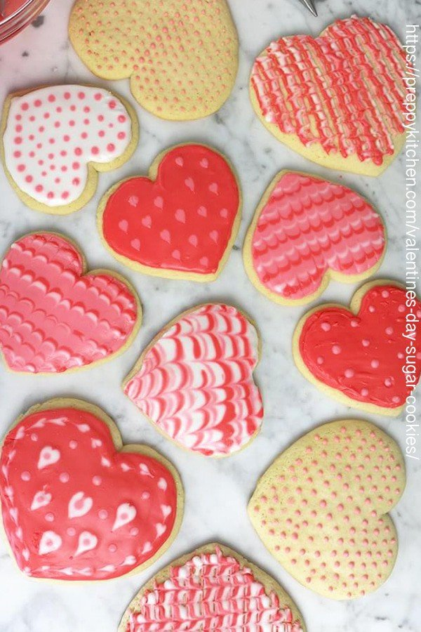 You've got to make a batch of these fun and delicious heart-shaped sugar cookies!