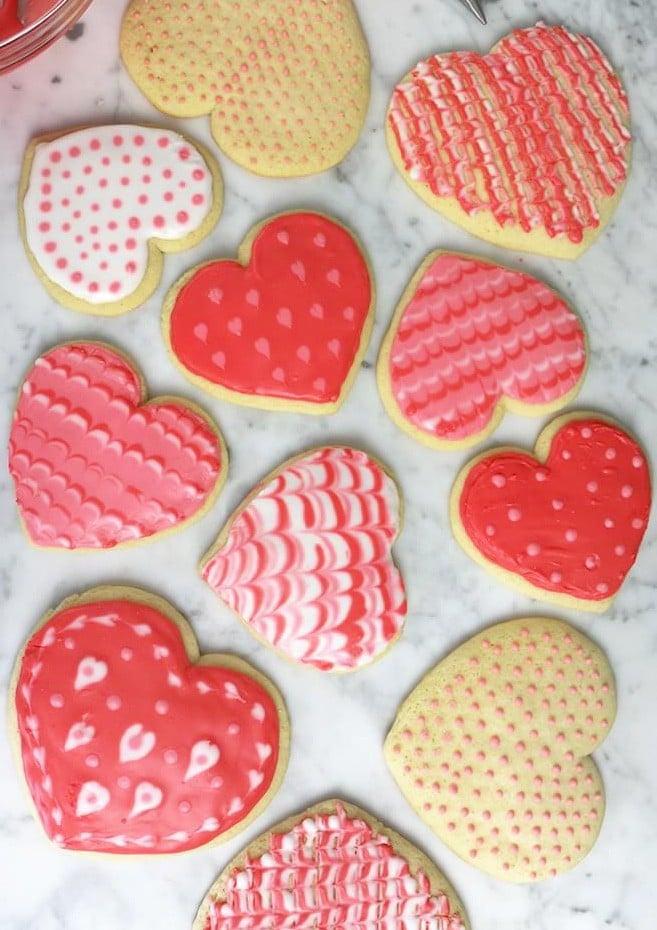 Valentine S Day Sugar Cookies Preppy Kitchen