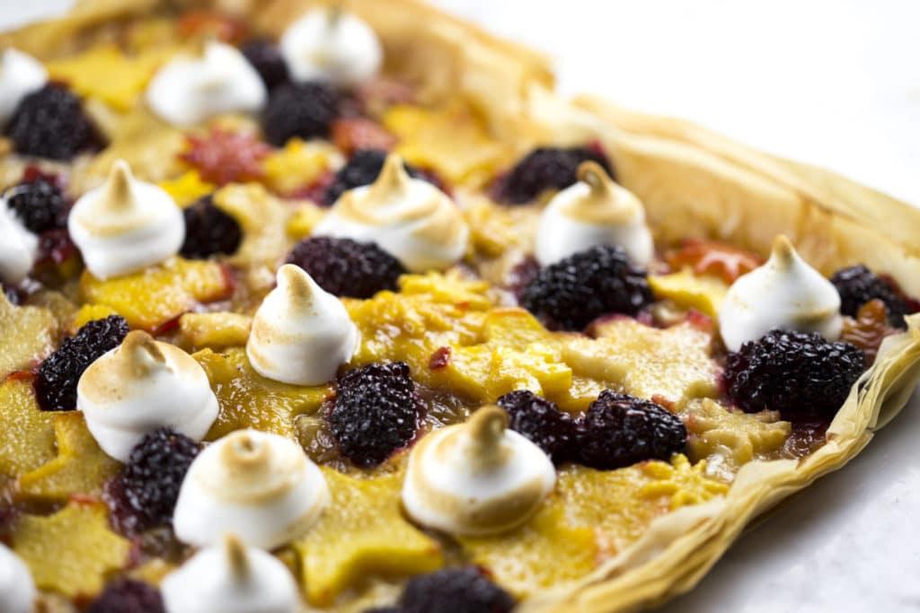 Honey fruit tart3