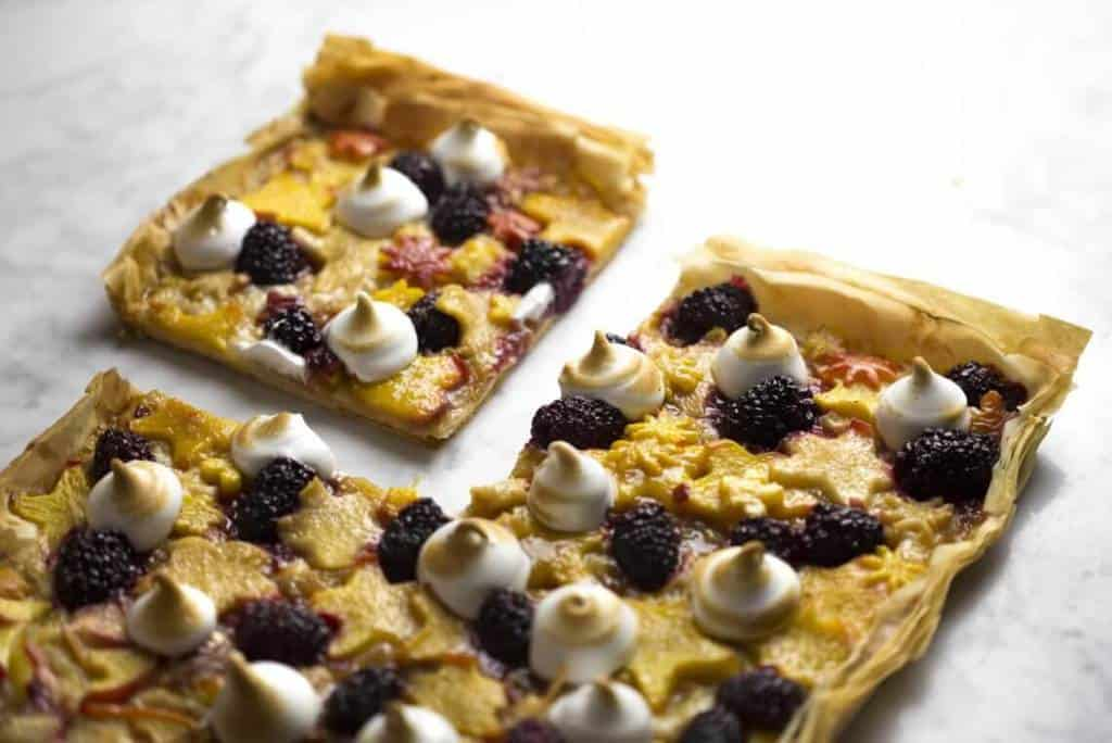 Honey Butter Fruit Tarts