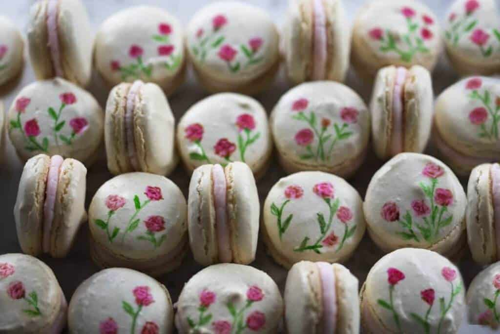 Painted Macarons