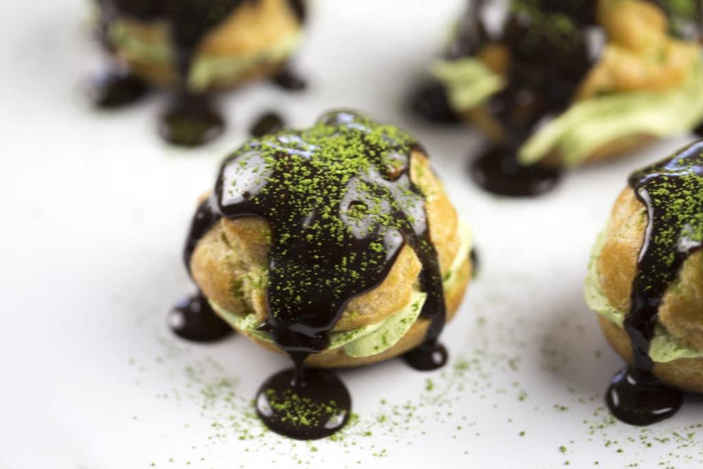 green tea cream puff2