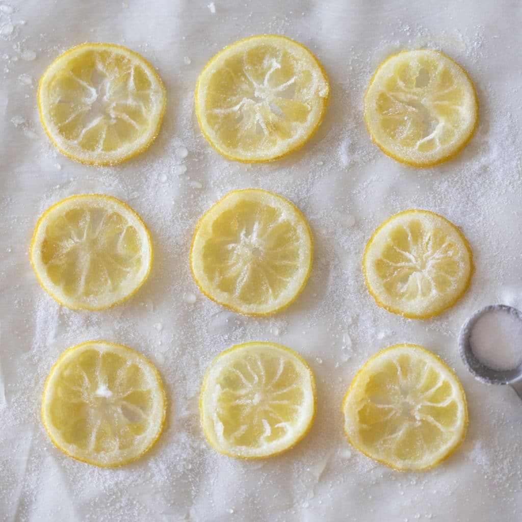 candied lemons