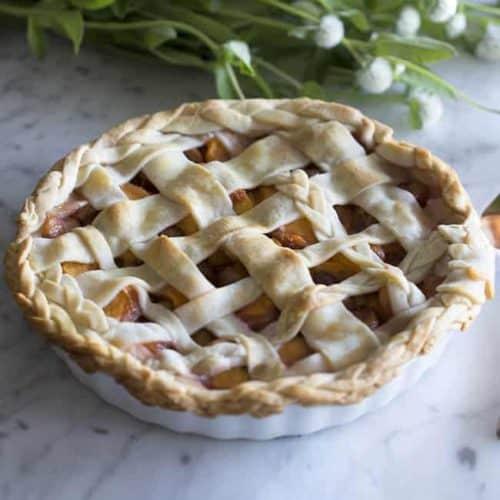 Peach And Cherry Pie Preppy Kitchen