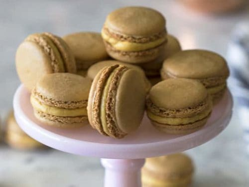 Pumpkin Macarons Preppy Kitchen
