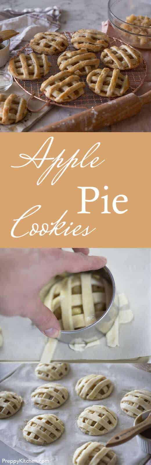 Mini apple pies that fit into your hand! Click over for the full recipe.
