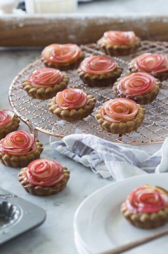 Rose Apple Tarts