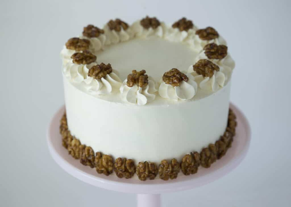 Walnut Maple Cake