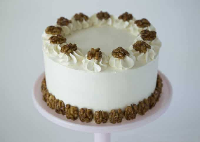 Walnut Maple Cake