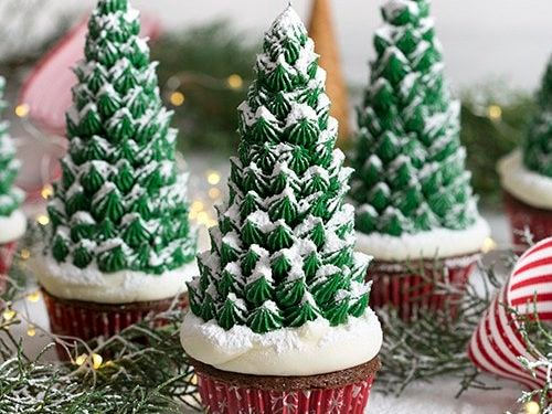 - Christmas Tree Cupcakes - Preppy Kitchen