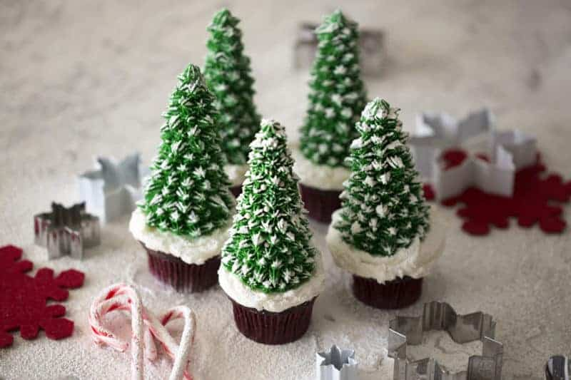 Christmas Tree Cupcakes Preppy Kitchen