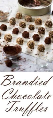 Brandied Chocolate Truffles