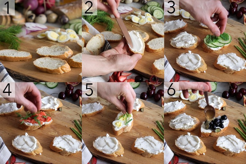easy canapes