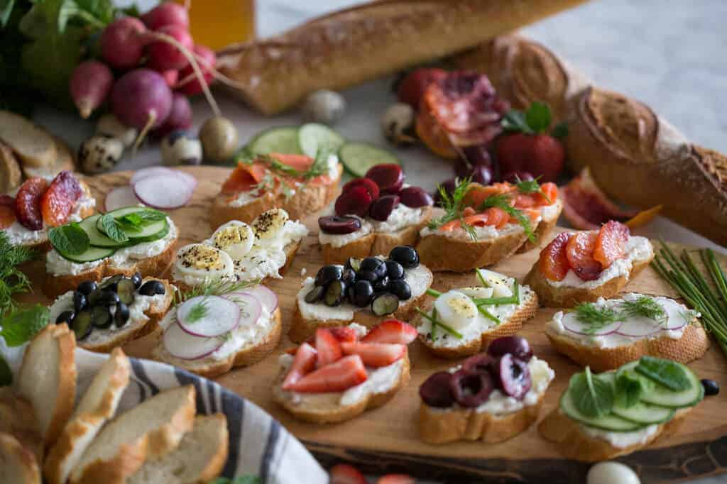Easy canap s preppy kitchen for Easy canape ideas