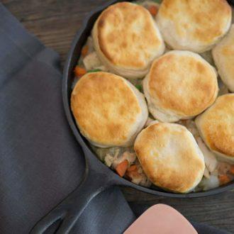 Easy Skillet Pot Pie