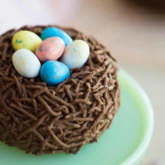 Bird's Nest Easter Cake