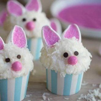 Bunny Ear Cupcake