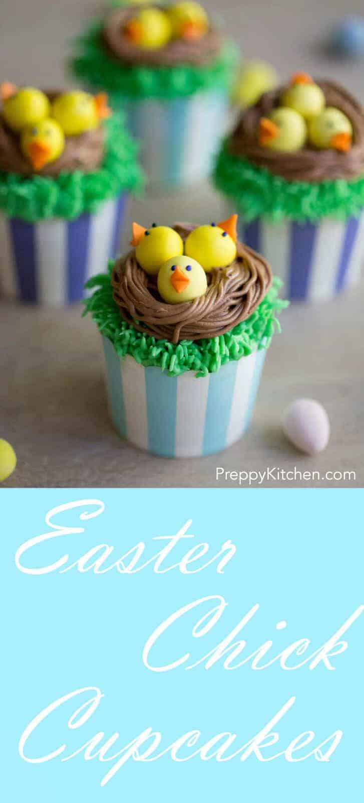 Maybe the cutest easter cupcakes ever and it doesn't hurt that they're delicious!