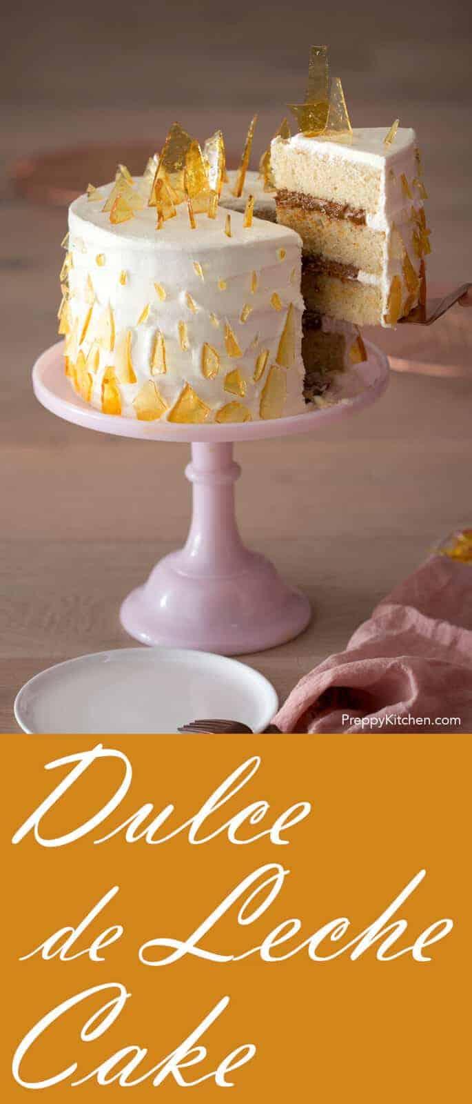 Dulce de Leche Shard Cake
