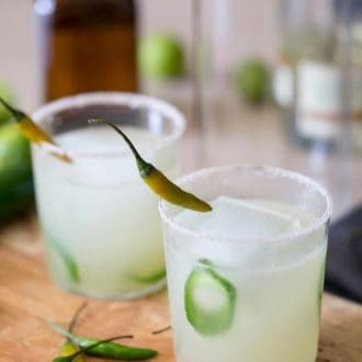 Spicy Margaritas