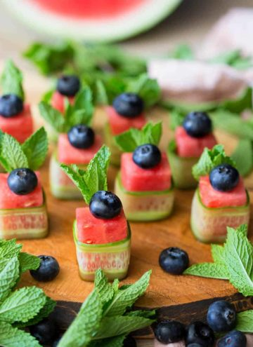 A photo of Watermelon Canapés