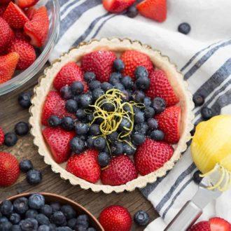 Simple Berry Tart