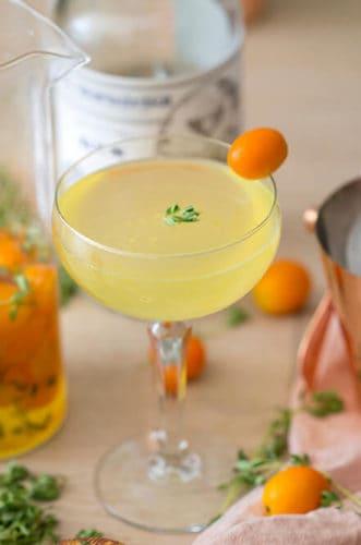 Kumquat Thyme Gimlet