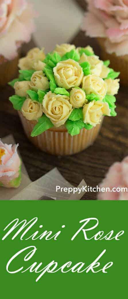 Mini Rose Cupcake