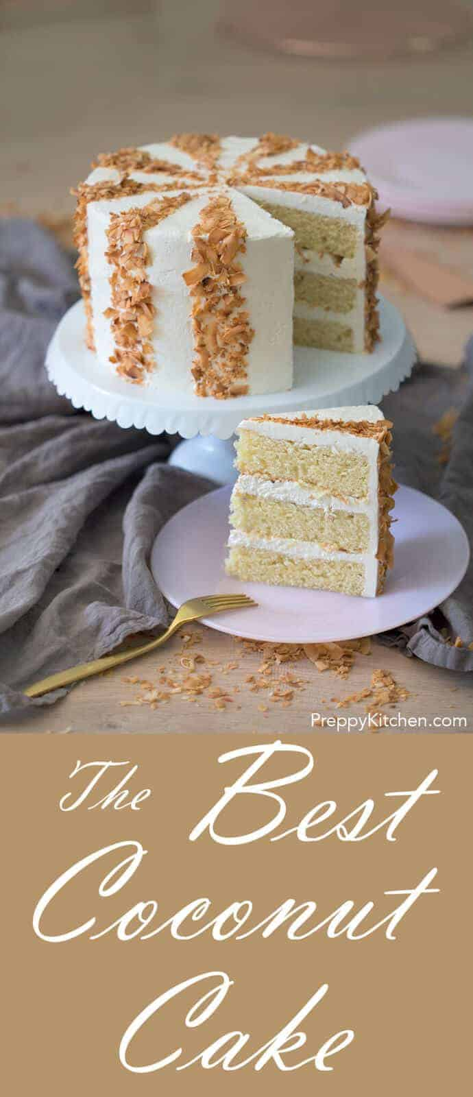 This cake has all the coconut flavors AND the buttercream is literally the lightest most dreamy frosting I've ever made. Don't use coconut extract in this cake the flavor is too strong an just doesn't taste natural.