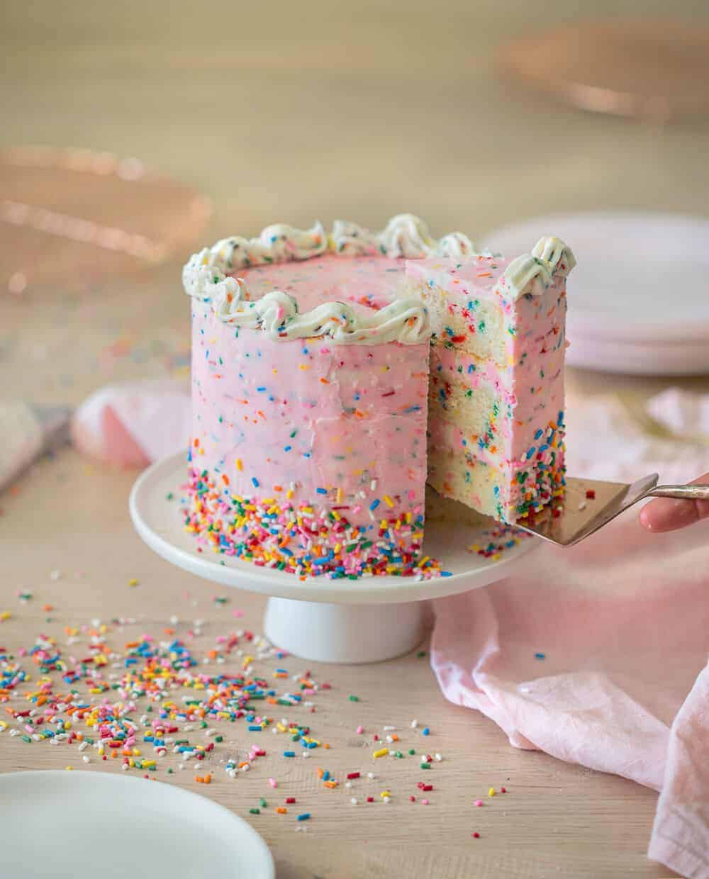Ultimate Funfetti Cake Preppy Kitchen