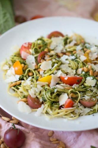 Homemade Pesto Pasta