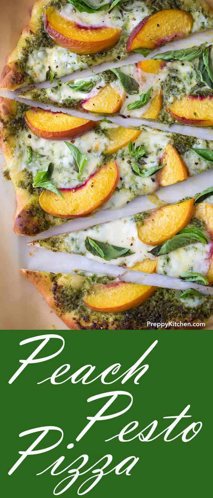 peach pesto pizza