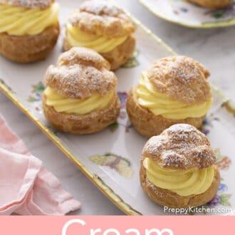 Sx cream puffs