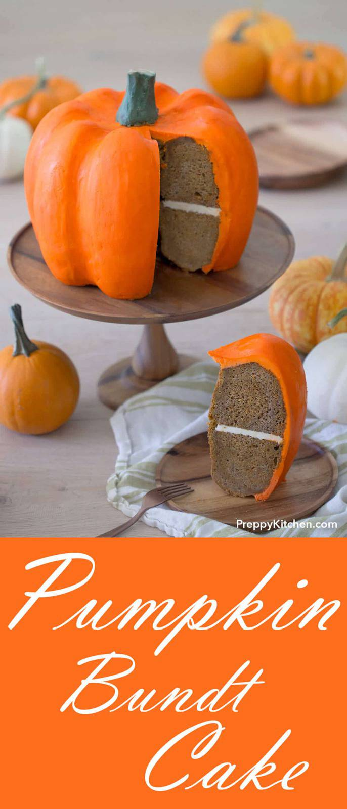 Mega Pumpkin Bundt Cake