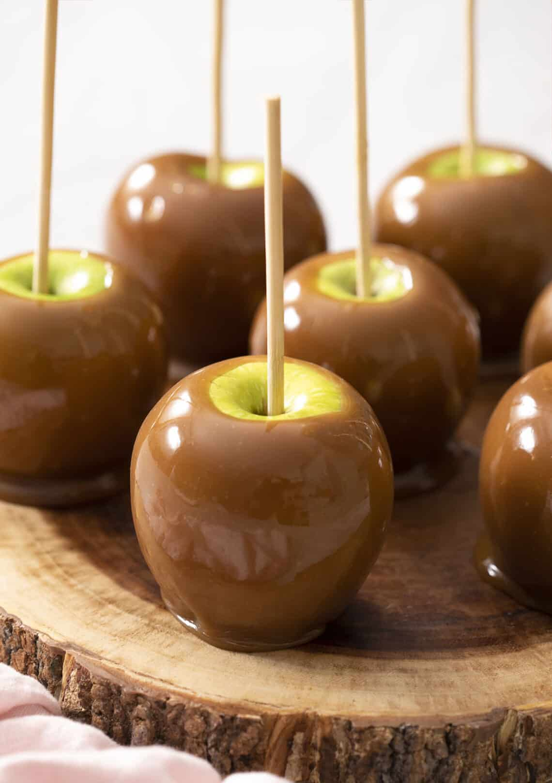 Caramel Apples Preppy Kitchen