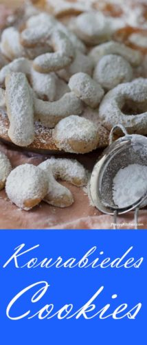 Kourabiedes Cookies