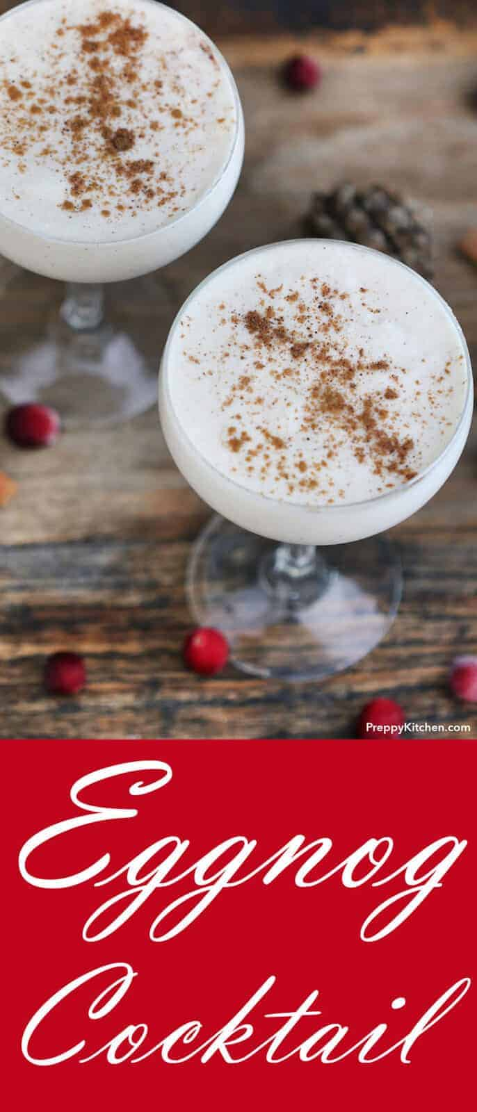 eaa1170b6b72 Eggnog gets such a bad wrap because all the store-bought brands just can t  compete with the homemade version. Most of you wouldn t pour an old  fashioned or ...